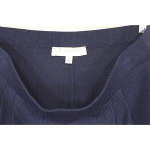 St. John Pants - St-John-Basics-pants-8-navy-Santana-knit-wool-ble